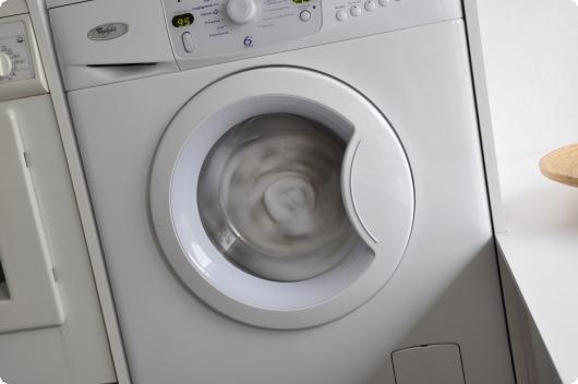 Vaskemaskinen snurre