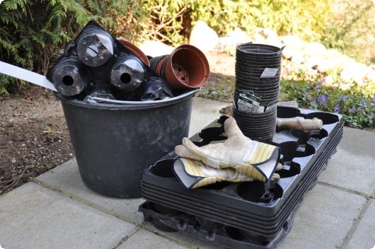 Kasser og potter
