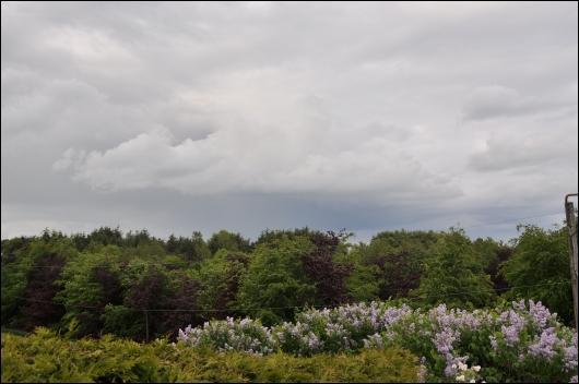 Truende skyer