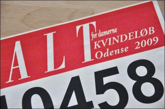Nummer til ALT for damerne kvindeløb 2009