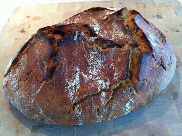 Ølandshvedebrød, grydebrød med økologisk ølandshvede