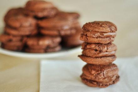 Chokolade macarons