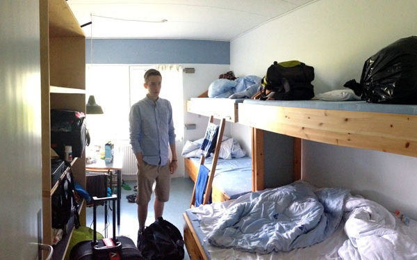 4 mands værelse
