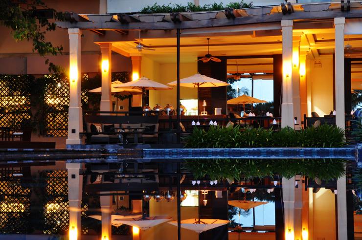 Tidlig morgen på Asara Villa & Suite