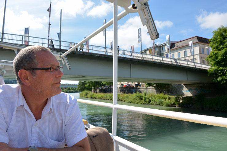 På tur på floden Drau